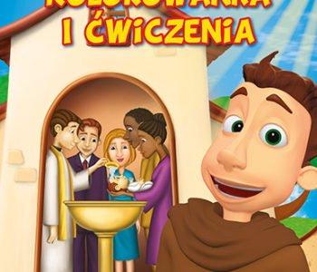 Cud chrztu kolorowanka i film dla dzieci