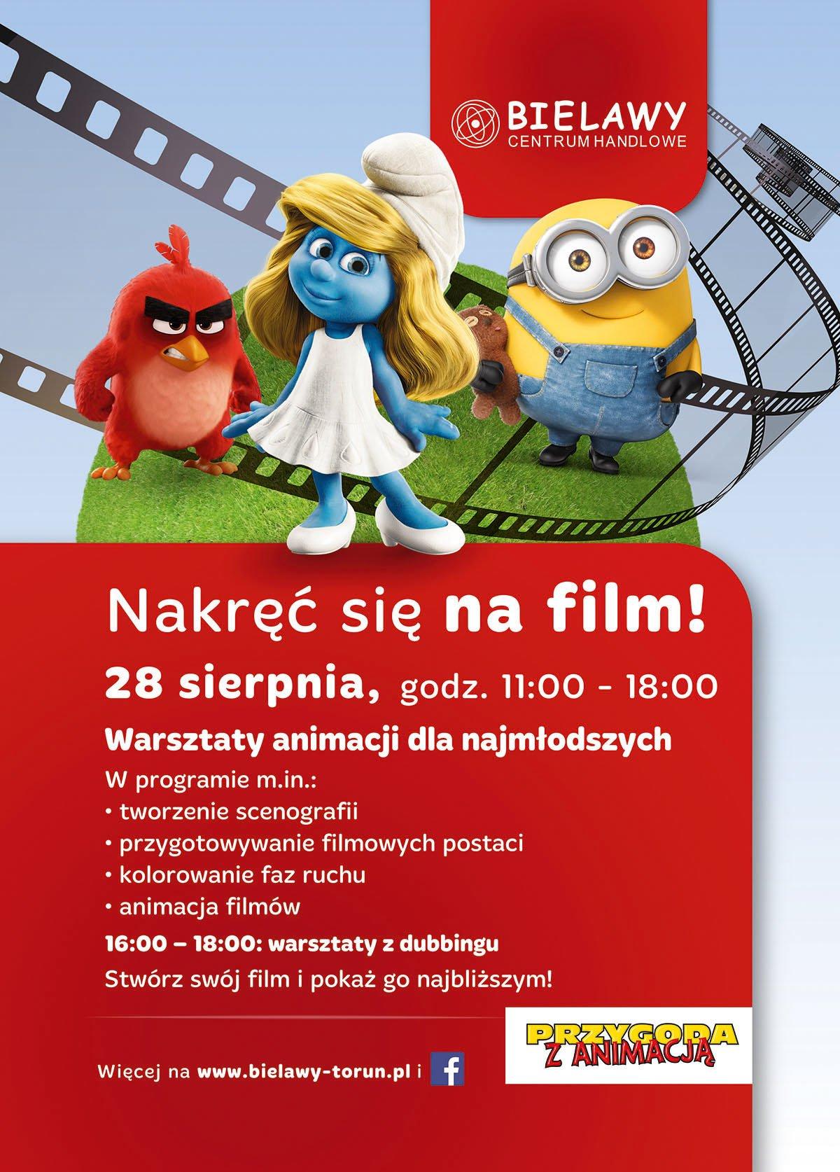 warsztaty animacji w Toruniu