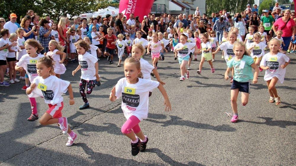 Bieg dla dzieci w Jaworznie