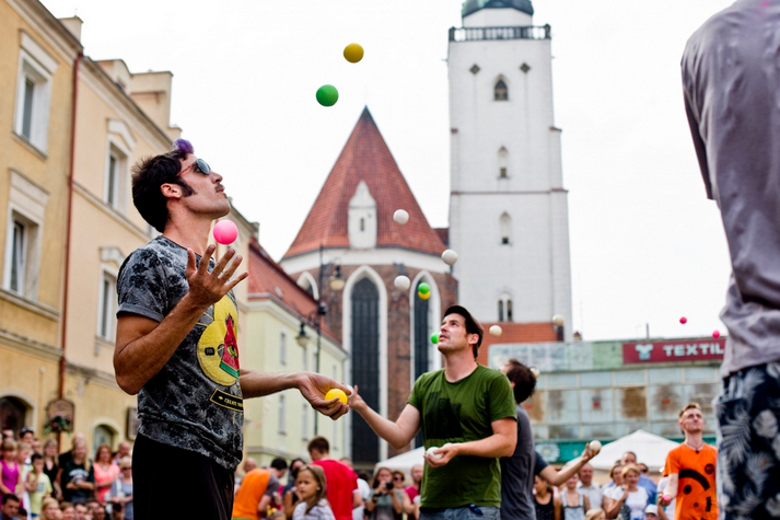 Festiwal cyrkowy w Oleśnicy