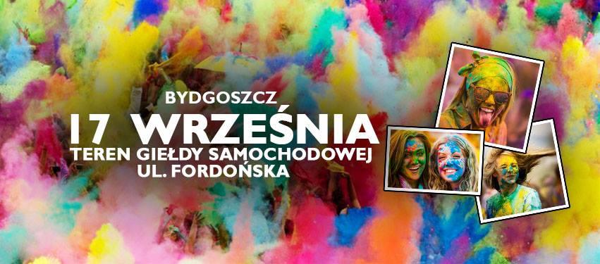 Bydgoszcz Holi Festival - Święto Kolorów w Bydgoszczy