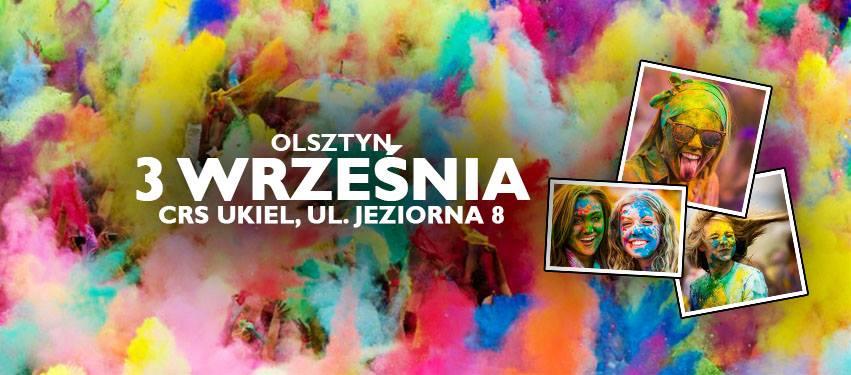 Olsztyn Holi Festival - Święto Kolorów w Olsztynie