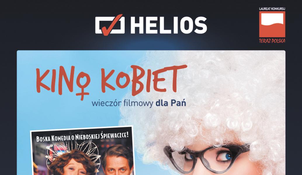 Kino Kobiet Boska Florence Helios Opole plakat