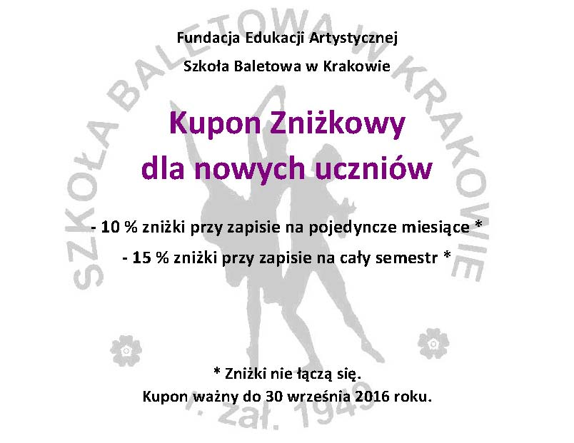przegląd balet Kraków