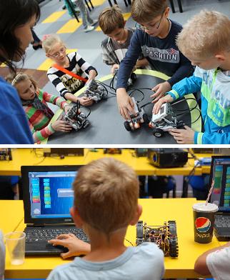 Kurs lego mindstroms twójrobot
