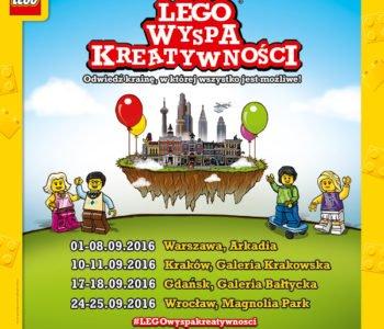 LEGO Wyspa Kreatywnosci eventy