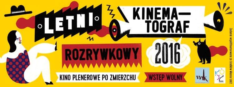 Letni Kinematograf Rozrywkowy - plenerowe kino w Łodzi
