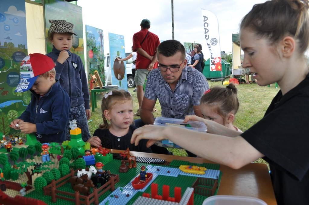 Lego dzieci Klub Gaja