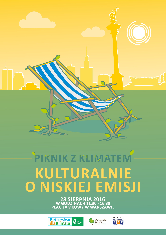 Piknik z klimatem 2016 plakat z programem