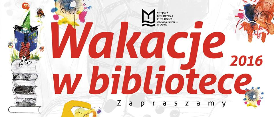 Wakacje w bibliotece w Opolu