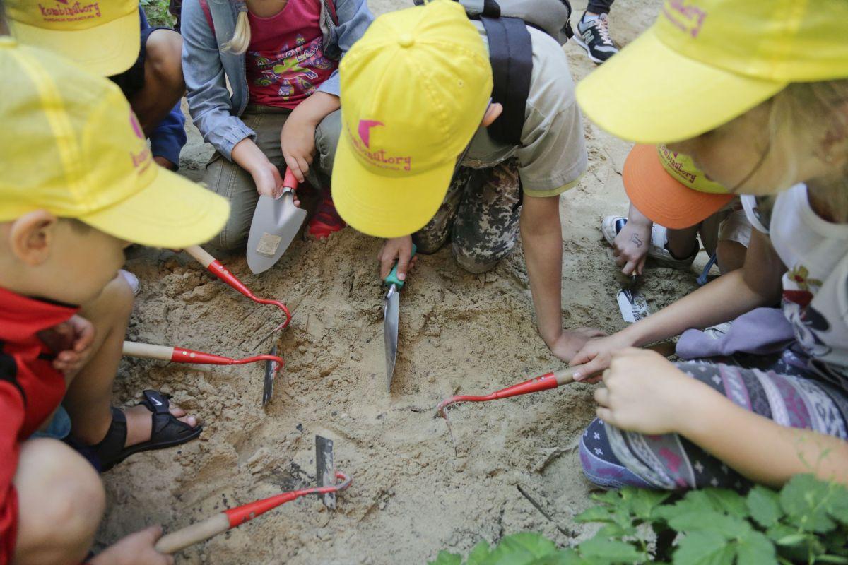 Wakacje z archeologia Bytom