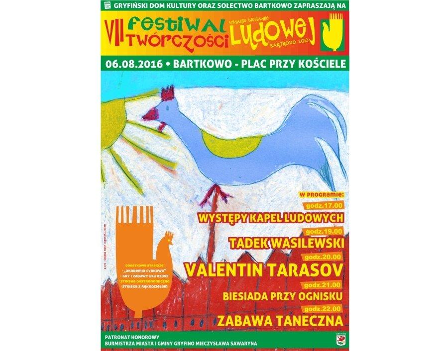 7. Festiwal Twórczości Ludowej w Bartkowie