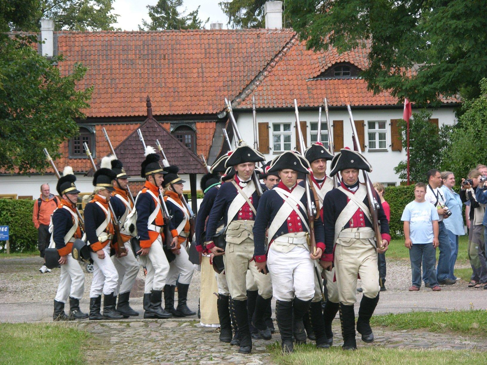 batalia napoleonska przedstawienie plenerowe