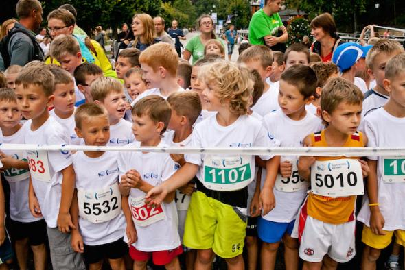 Festiwal Biegowy dla dzieci
