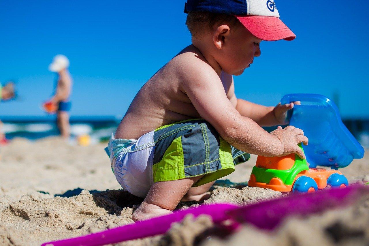 wakacje z dzieckiem nad morzem