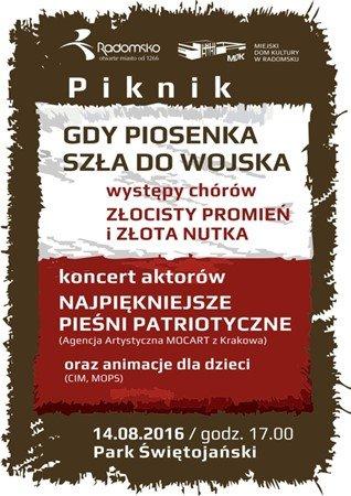 Piknik w Radomsku - Gdy piosenka szła do wojska