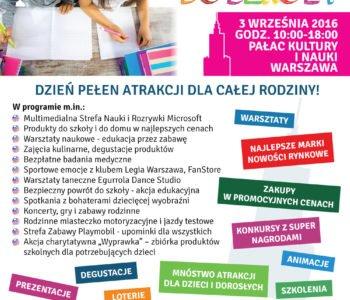 Warszawa wraca do szkoły plakat