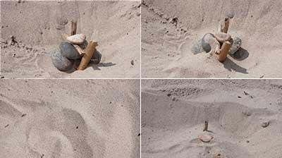 Pomysły na lato na plaży - zabawa w archeologów