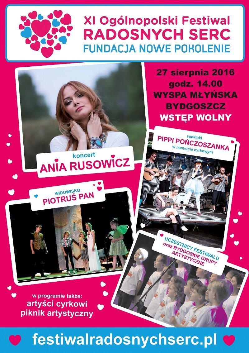 Festiwal RADOSNYCH SERC w Bydgoszczy