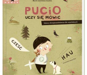 Pucio uczy się mówić książka dla dzieci