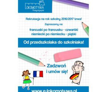 Lokomotywa francuski hiszpański dla dzieci