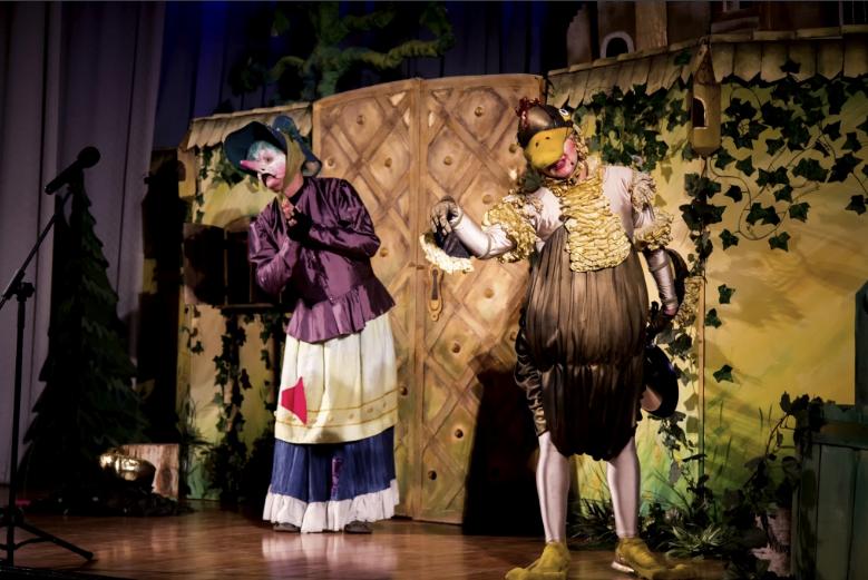 teatr piccolo złota kaczka i duch starego zamku