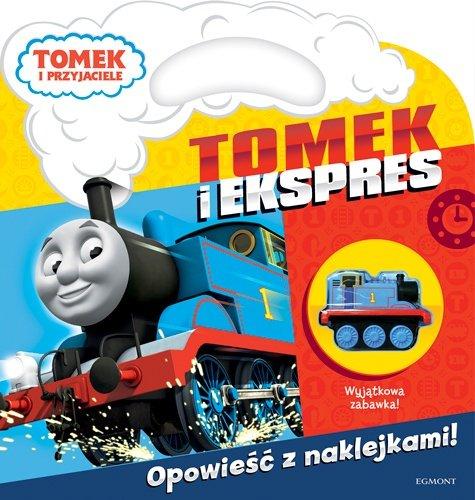 książka zabawka tomek i ekspres