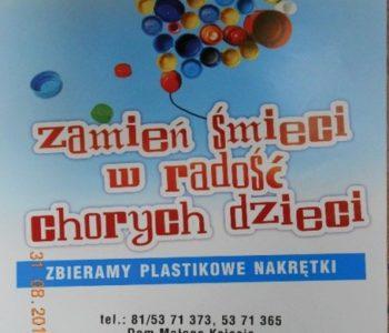 zbieranie zakrętek Lublin