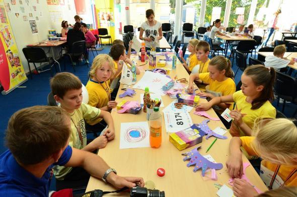Strefa Dzieci Festiwalu Biegowego