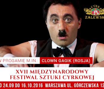 Fetsiwal cyrkowy 2016 Cyrk zalewski
