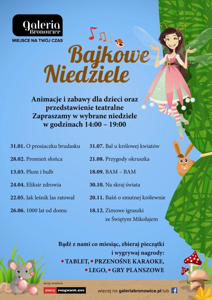 Atrakcje dla dzieci w Galerii Bronowice