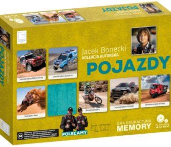 Autorska kolekcja memory Jacka Boneckiego