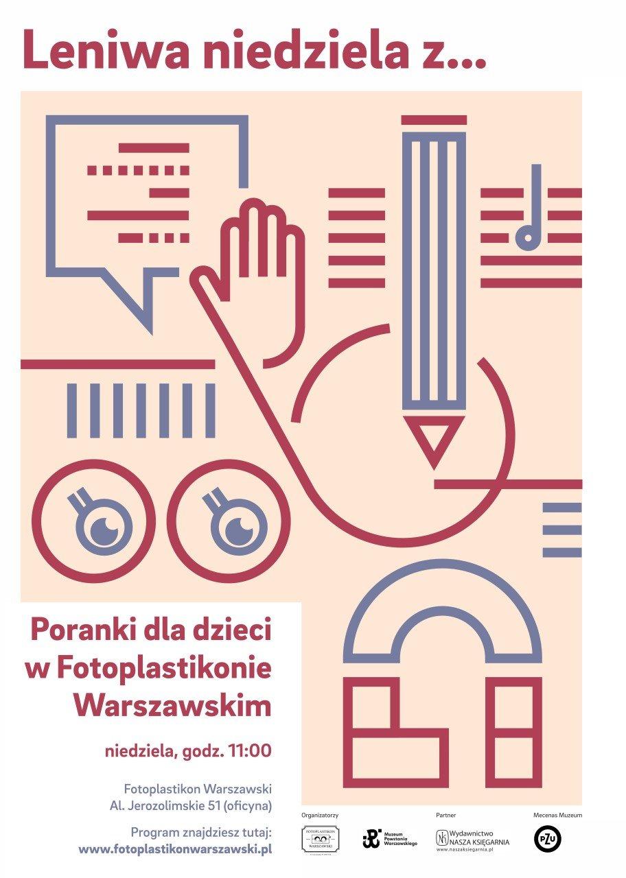 leniwa niedziela z designem fotoplastikon warszawski