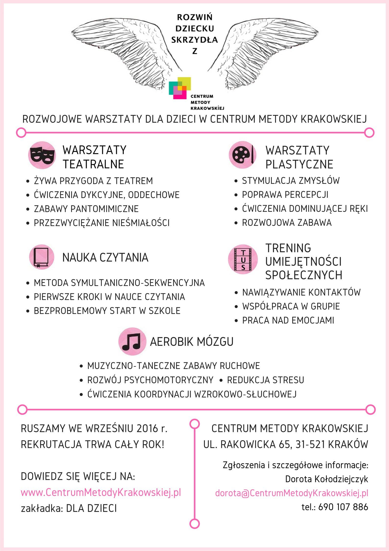 oferta Centrum Metody Krakowskiej