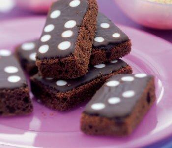 Przepis na ciasteczka – czekoladowe domino