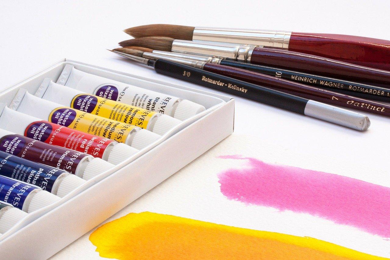 pixabay farby malowanie