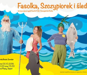teatr dla dzieci na plaży