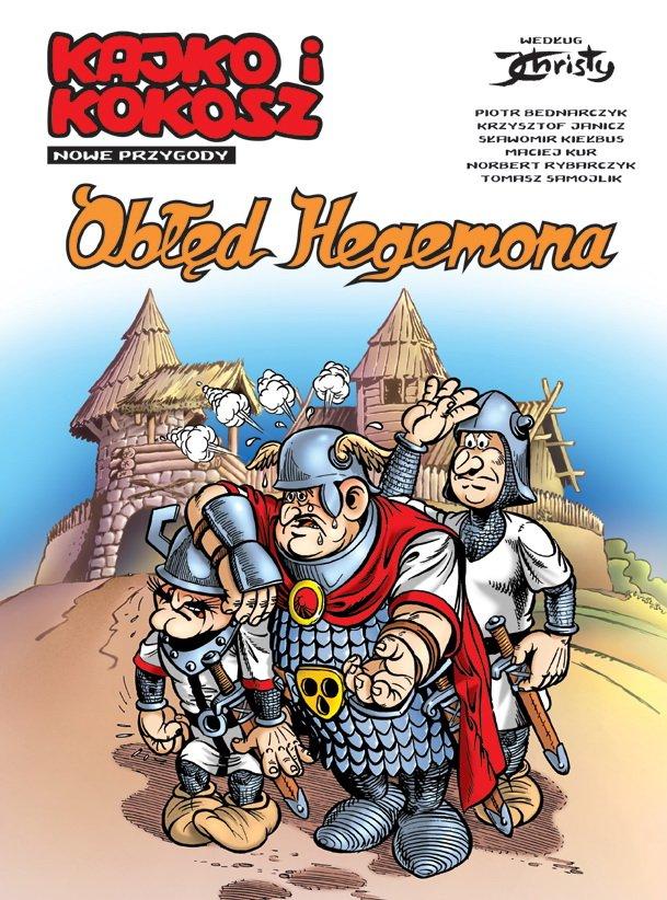 Kajko i Kokosz komiks Egmont Obłęd Hegemona