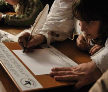 Nauka kaligrafii w Wilanowie