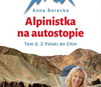 Alpinistka na autostopie okładka