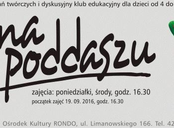 Pracownia na poddaszu - zajęcia Bałucki Ośrodek Kultury