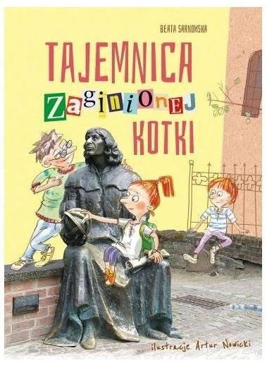 Tajemnica zaginionej kotko recenzja książki dla dzieci