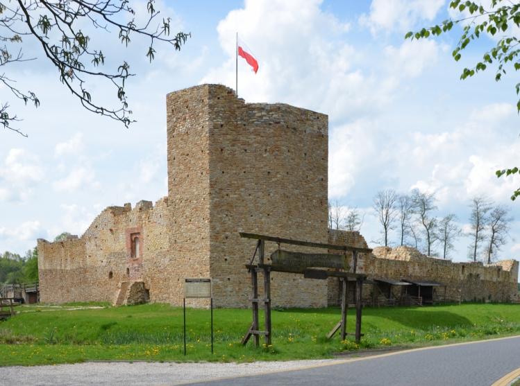 Zamek Królewski w Inowłodzu (fot. Mirona Werkowska)