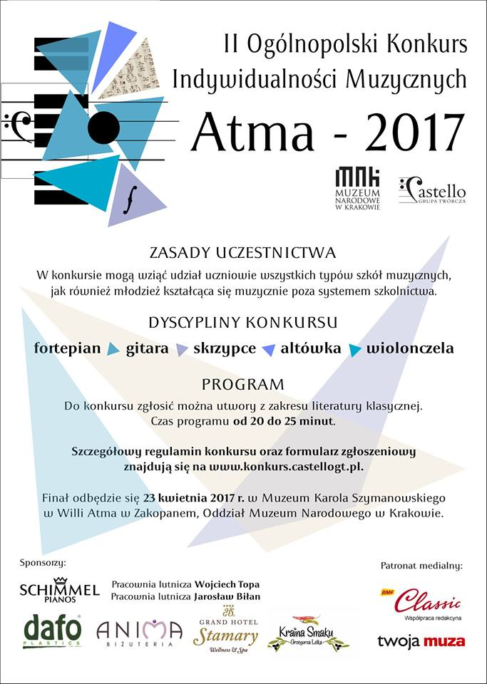 Konkurs Indywidualności Muzycznych ATMA