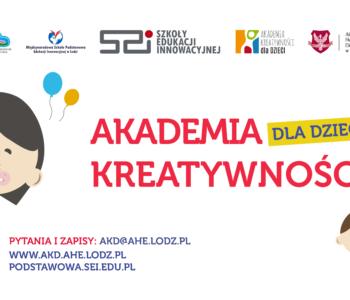 Akademia Kreatywności dla Dzieci