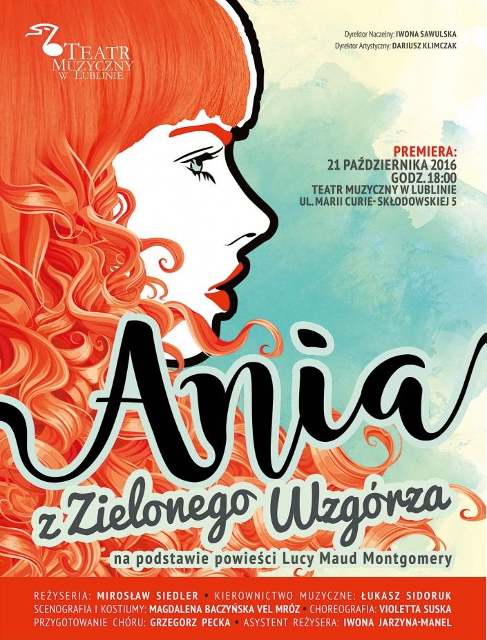 Ania z Zielonego Wzgórza TM Lublin