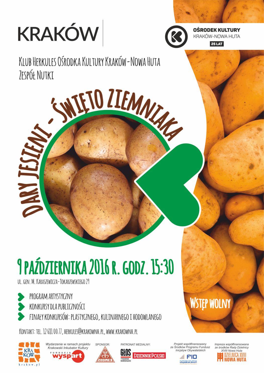 Dary jesieni - Święto ziemniaka