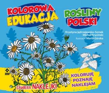 Polskie rośliny kolorowanka