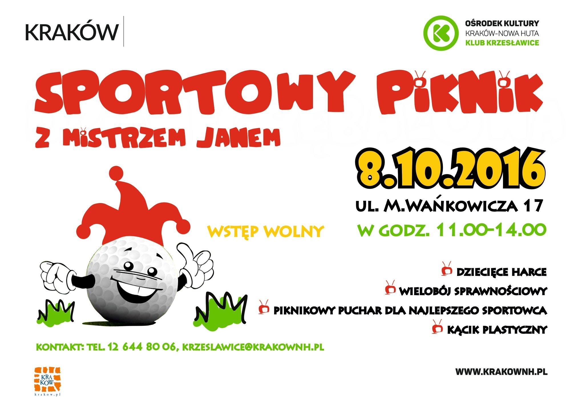 Piknik Sportowy w Klubie Krzesławice