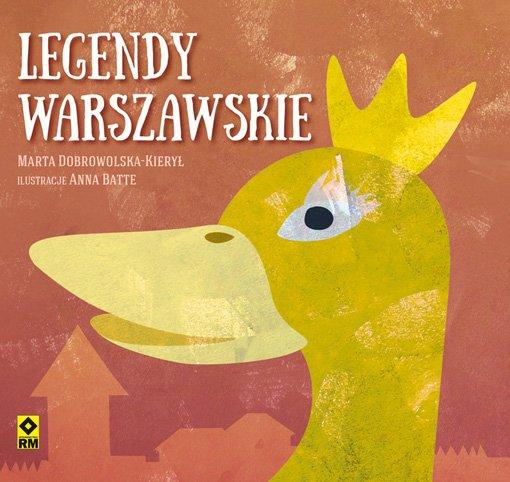 Legendy warszawskie ksiązka dla dzieci